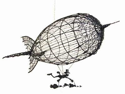 Wire Sculpture by Harry Kooy